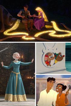 Elsa has supernatural powers! Besides Rapunzel lost her powers in the end so. Disney Pixar, Walt Disney, Disney Facts, Disney Quotes, Cute Disney, Disney Dream, Disney And Dreamworks, Disney Animation, Disney Magic
