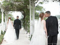 Lake Mary Events Wedding - Corner House Photography - Orlando Wedding Photographer- newlyweds walking hand in hand