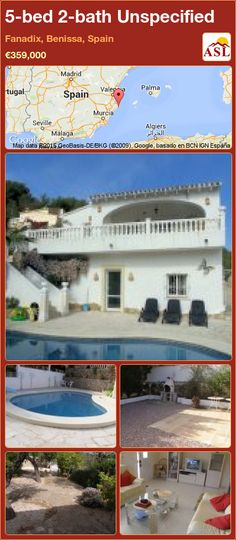 Unspecified for Sale in Fanadix, Benissa, Spain with 5 bedrooms, 2 bathrooms - A Spanish Life Moraira, Beautiful Villas, Large Bathrooms, Al Fresco Dining, Water Slides, Double Bedroom, Kitchenette, Seville, Malaga