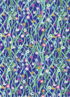 Liberty Tana Lawn Fabric Patsy in navy Made In Japan Liberty Art Fabrics, Liberty Of London Fabric, Cool Patterns, Textures Patterns, Floral Patterns, Floral Bridesmaid Dresses, Blue Silk Dress, Textiles, Textile Prints