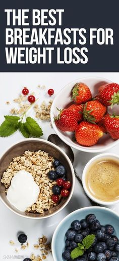 Lose weight with some of these healthy breakfasts!