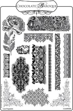 how to draw lace patterns | Crafty Flossie: New Stamps and a Give Away