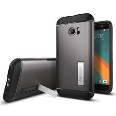 Köp Spigens stöttåliga TPU-skal till HTC 10 online: http://www.phonelife.se/spigen-htc-10-case-slim-armor-gunmetal