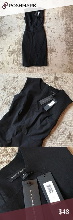 Black Banana Republic Business Dress New with tags. Great condition. No marks or stains Banana Republic Dresses Midi
