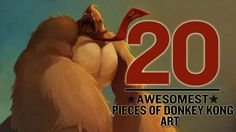 The 20 Awesomest Pieces of Donkey Kong Art - http://www.heavy.com/games/2012/03/the-20-awesomest-pieces-of-donkey-kong-art/
