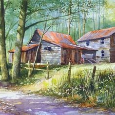 Terry Harrison Art Workshop: Country Landscapes & Barns in Watercolour, May 26-30, 2014. This art workshop is in very high demand and will fill quickly, so register soon! Terry's unique step-by-step process, many demonstrations, easy going teaching style and entertaining humor will encourage you to reach a new artistic level...