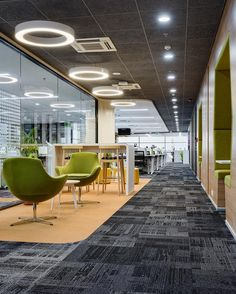 An office interior that would complement the brand standards and the luxurious work culture of the present innovations in workplace design. School Office Design, Office Space Design, Modern Office Design, Modern Offices, Cool Office Space, Contemporary Office, Workplace Design, Corporate Interior Design, Corporate Interiors