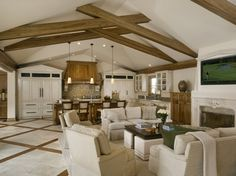 Traditional Living Photos Open Floor Plan Design Ideas, Pictures, Remodel, and Decor - page 9