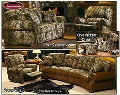 Love love love this camo couch n recliner i waaaaant it!