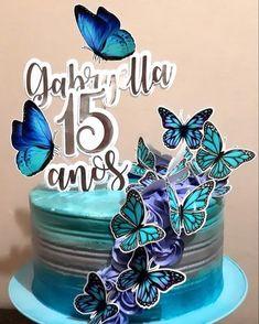 Elegant Cake Design, Elegant Cakes, Quinceanera Cakes, Bolo Cake, Fashion Cakes, Cake Designs, Cake Decorating, Birthday Cake, Pasta