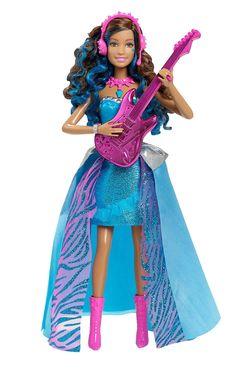 Amazon.com: Barbie in Rock 'N Royals Singing Erika Doll: Toys & Games