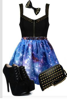 Galaxy outfit I want!