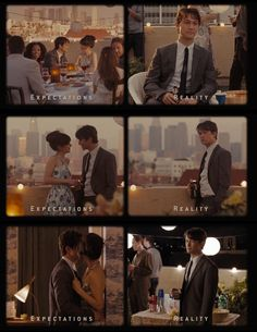 Expectations vs Reality.  500 Days Of Summer (2009).