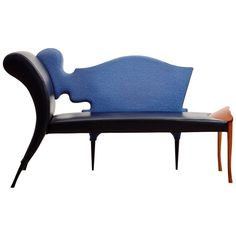 Chaise Longue Designed by Borek Sipek for Driade in 1990, Now Out of Production | From a unique collection of antique and modern sofas at https://luigi.1stdibs.com/furniture/seating/sofas/