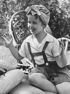 Shirley Temple in the White House,1938.