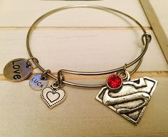 Superman is the best !! I want this Bracelet it only $22 bucks on etsy
