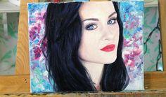 Oil Painting Timelapse - Emma Pickles portrait & collab