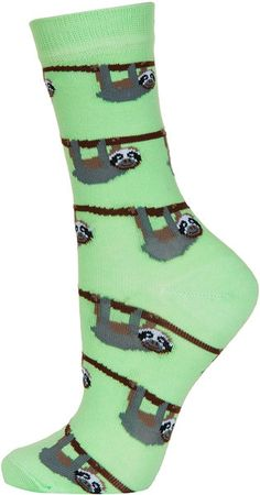 Topshop ~ Sloths Ankle Socks--- OMG IF SOMEONE BOUGHT THESE FOR ME, I WOULD DIE