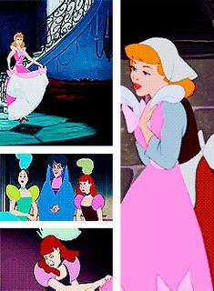 The Stepsister Torn Cinderella's Dress