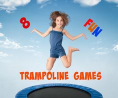 So many fun trampoline games! These ideas are awesome summer fun for the whole family. I love Rock, Paper, Scissors Trampoline Style! Even gross motor games for toddlers on the trampoline.