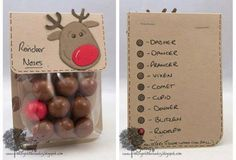 Reindeer Red Nose Gifts