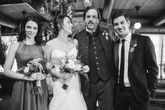 Behind the scenes at Rosalie & Monroe's Grimm Wedding | Oregon Bride Magazine | Photo: NBC