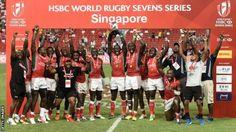Kenya beat Fiji to win their first Sevens World Series title