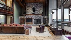 Family Room   1687 High Plains Road Huntsville, Utah - Mountain Luxury Home For Sale