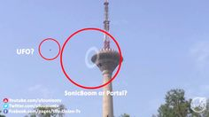 UFO Came out of TV Broadcasting Tower - November 23, 2014