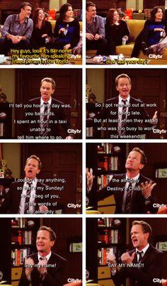 Barney! Love this!!!