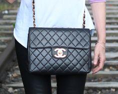 Chanel Tasche, Designer-Tasche, Vintage Chanel, Luxus-Tasche, Second-Hand-Chanel, Rebelle.com,