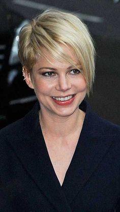 20 Michelle Williams Pixie Cuts | http://www.short-haircut.com/20-michelle-williams-pixie-cuts.html