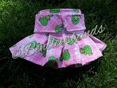 R2S Turtles  MEDIUM  female dog diaper in season by Bentleysbands, $10.00