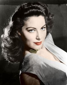 Ava Gardner - just finished her autobiography.  Old glamorous movie stars are fascinating