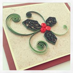 Cartão de Natal - Quilling by Fabíola Silva