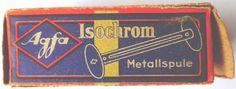 AGFA ISOCHROM  120 FILM EXPIRED JULY 1946  LOMOGRAPHY WW2 120 FILM DAMAGED BOX