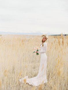 Wedding Dress for Love Long sleeve wedding dress. Lace Wedding Dress With Sleeves, Wedding Dress Train, Long Wedding Dresses, Long Sleeve Wedding, Boho Wedding Dress, Wedding Gowns, Dress Lace, Long Sleave Wedding Dress, Sleeve Wedding Dresses