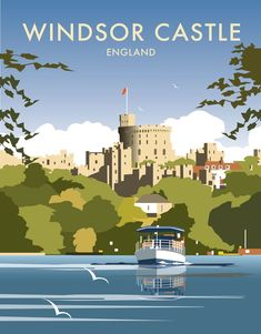 Windsor Castle - England Art Print