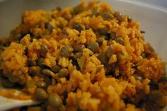 the domestic mama: Puerto Rican rice (or so I was told...)