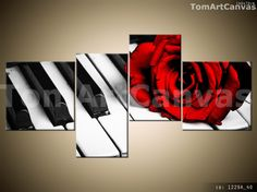 NEW 4 PCS CANVAS PRINT WALL ART PICTURE DECOR FRAME 140x70cm Ready for a wall