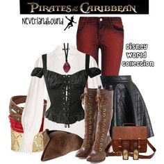 """Pirates of the Caribbean ~Neverlandbound: Disney World Collection"" by gallifreyangryffindor on Polyvore"