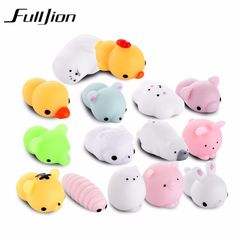 Jinhf Mini Squishy Toy Cute Cat Antistress Ball Squeeze Mochi Rising Toys Abreact Soft Sticky Squishi Stress Relief Toys Gift Price Remains Stable Cellphones & Telecommunications