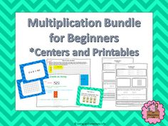 Teaching your students multiplication?  Have students that need extra practice?  This bundle is filled with fun centers and activities to help your students become fluent with their basic multiplication facts.  Included in this bundle are two of my products.Multiplication Arrays - Task Cards and CentersDaily Math Practice -Multiplication (Beginner)These activities require minimal prep while providing fun and engaging activities for students.Remember to leave feedback and earn TpT credit.If…