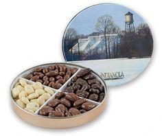 1# 6 oz Tin Chocolate Sampler – Indianola Pecan House Online Store