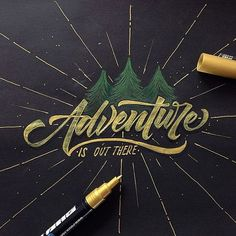 Crash Course in Hand-lettering - How To/Tools and Tips