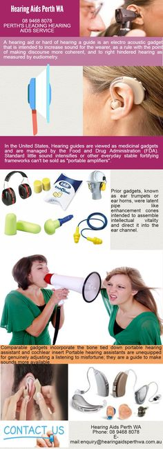Looking for Hearing Aids Perth ? Hearing guides are viewed as medicinal gadgets and are managed by the Food and Drug Administration (FDA). For more detail visit us 5 Mill Street, PERTH WA 6000 or call us at 894688078 See more http://hearingaidsperthwa.com.au/