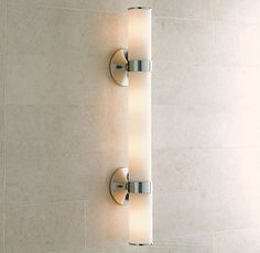 RH's Sutton Grand Sconce:Sutton brings a quality hotel aesthetic to your bath.