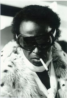 Miles Davis; influential jazz musician (May 26, 1926 – September 28, 1991)