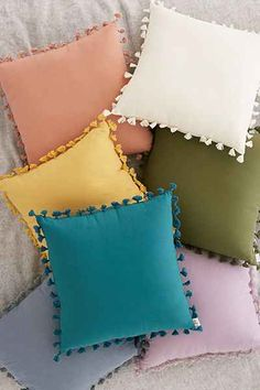 Shop Magical Thinking Avery Tassel Pillow at Urban Outfitters today. We carry all the latest styles, colors and brands for you to choose from right here.