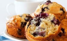 Epicure's Lemon Blueberry Muffins